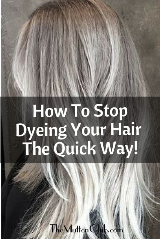stop dyeing your hair