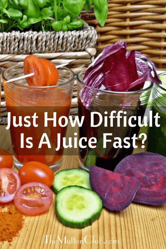 juice fast