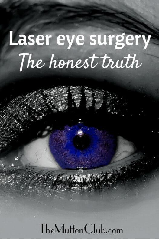 Lazer eye surgery