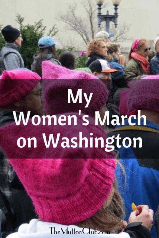My Women's March on Washington