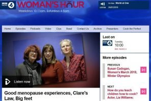 Realizing A Dream – Going On BBC Woman's Hour!